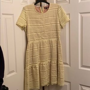 Gianni Bini pastel yellow dress